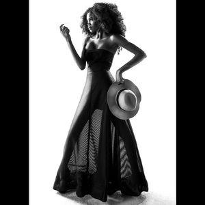 Black Halston Dress